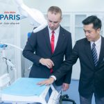 Paris Dental Hospital cooperated with Laboratory and Forsyth Dental hospitals.