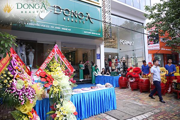 Khai trương TMV Đông Á cơ sở 5, 6 tại Nghệ An và Tp Hồ Chí Minh
