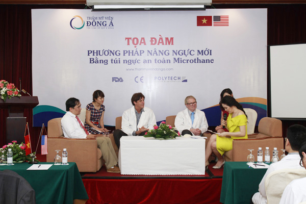 Seminar on Microthane pocket breast augmentation method